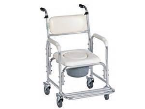 amazon com aluminum shower chair bedside commode w
