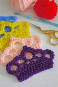 Free Crochet Baby Crown Pattern