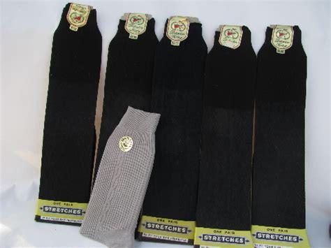lot   vintage mens socks sheer nylon mint