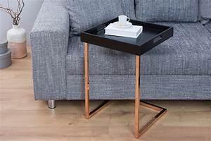 Tablett Tisch Schwarz : beistelltische in exklusiven designs riess ~ Whattoseeinmadrid.com Haus und Dekorationen