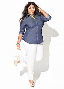 Have white pants and similar denim shirt. Never thought to ...