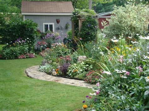 perennial flower garden sun landscaping gardening