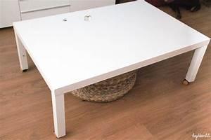 Ikea Table Basse Blanche : hey deer lili retaper un basique la table basse ikea ~ Teatrodelosmanantiales.com Idées de Décoration