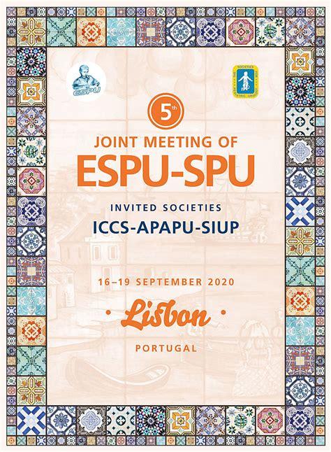 joint meeting espu spu espu european society paediatric