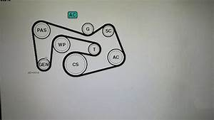 Belt Diagram Mercedes W203