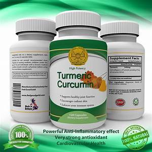 Turmeric Anti Inflammatory Supplement Turmeric Curcumin
