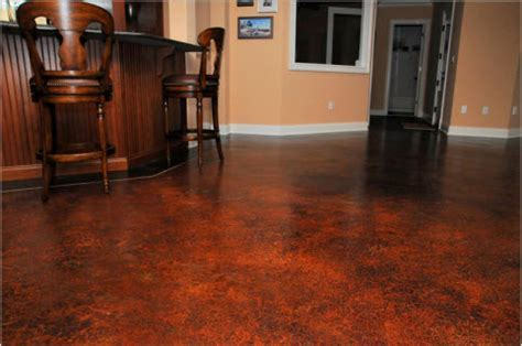 Acid Stain   Concrete Staining in Orlando FL   Sun