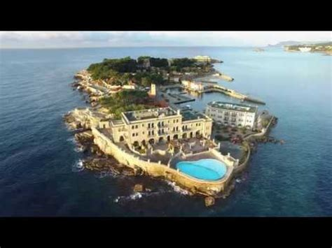 aerial video  bendor island bandol france youtube