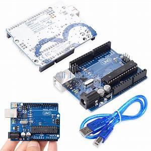 Uno R3 Atmega328p Atmega16u2 Board For Arduino Compatible
