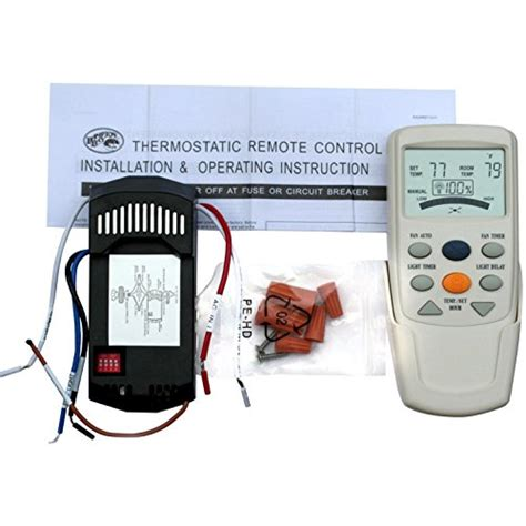 thermostatic ceiling fan and light remote control universal thermostatic ceiling fan and light remote