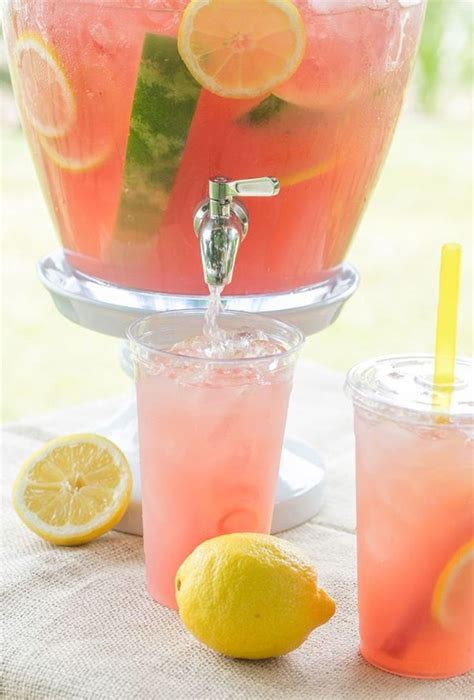 ideas  pink lemonade punch  pinterest