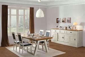 Salle a manger romance ateliers de langres meubles gibaud for Salle À manger contemporaine avec salle a manger complete a conforama