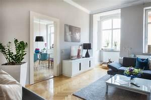 Modernes Wohnzimmer In Jugendstil Wohnung Modern