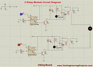 2 Relay Module Interfacing With Arduino