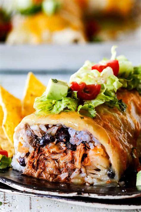 wet burritos  chipotle sweet pork barbacoa  mexican