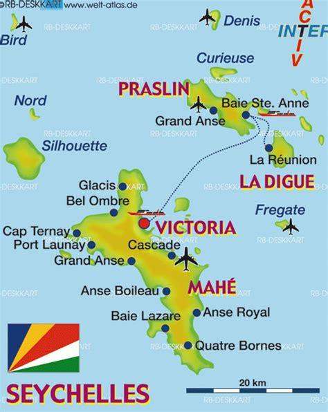 Carte Du Monde Avec Les Seychelles by Cascade Carte Et Image Satellite