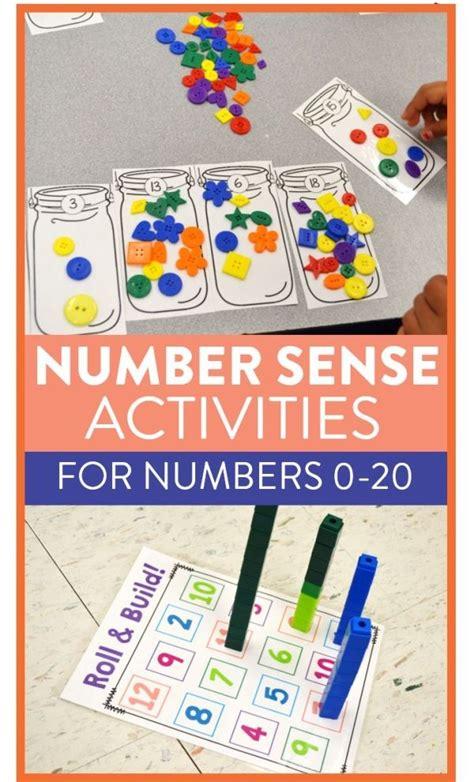 tons  hands  number sense activities games