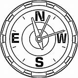 Compass Coloring Pages sketch template