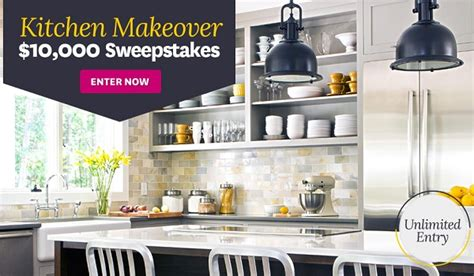 kitchen makeover sweepstakes win 10k kitchen makeover with bhg sweepstakesbible