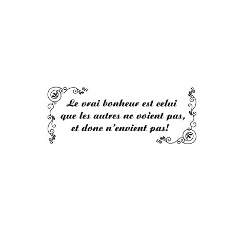 citation cuisine stickers citation quot le vrai bonheur quot pas cher stickers