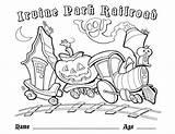 Coloring Irvine Railroad Park sketch template