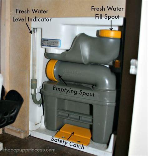maintain  pop  camper toilet toilets pop  campers  campers