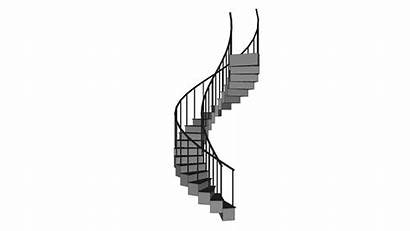 Stairs Round Sketchup Warehouse