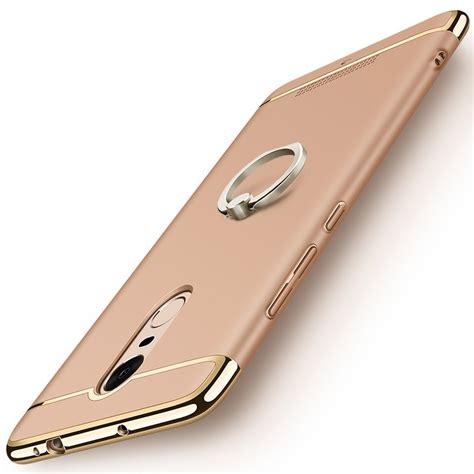 Hardcase Chrome Xiaomi Redmi 3 3 in 1 luxury plating gold frosted pc for xiaomi