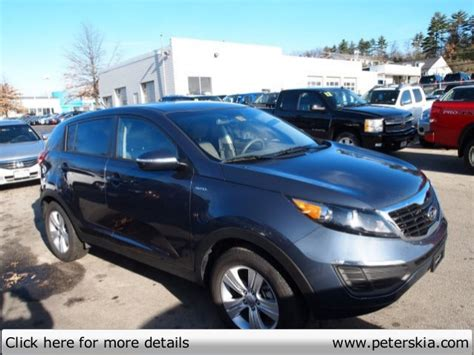 Peters Kia Of Nashua used 2012 kia sportage lx peters kia of nashua nh