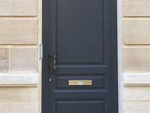 porte d39entree bordeaux 33 tryba haute securite coloris With porte d entrée ral 7016