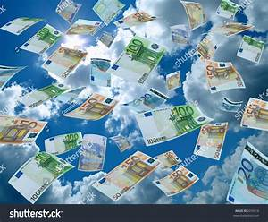 Money Falling From The Sky Stock Photo 2076518 : Shutterstock