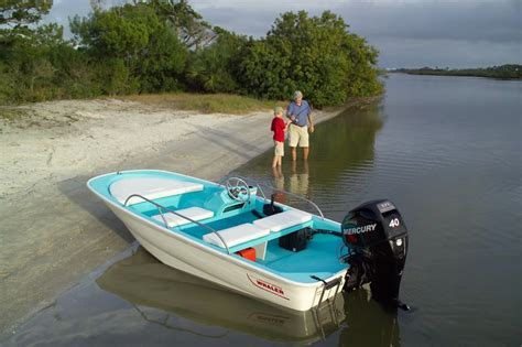 Boston Whaler Jon Boats by 2008 13 Sport 50th Anniversary Limited Edition Moderated