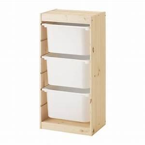 Spielzeug Aufbewahrung Ikea : trofast aufbewahrung mit boxen kiefer wei ikea ~ Michelbontemps.com Haus und Dekorationen