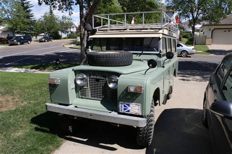 1968 series 2a land rover 109 for sale in st albert alberta canada