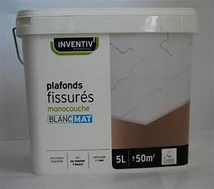 catgorie peinture dintrieur page 3 du guide et comparateur With peinture pour plafond fissure