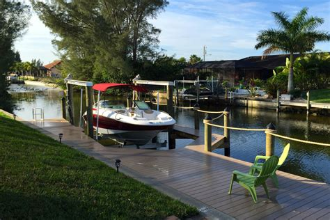 Boat Lift Rentals Cape Coral by The Boat Dock Boat Rental Villa Cape Coral S