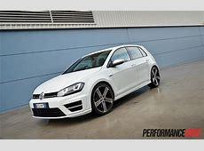 2014 Volkswagen Golf R Mk7 review video PerformanceDrive