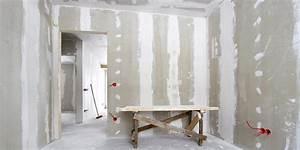 Comment Monter Une Porte Coulissante : poser une porte dans une cloison en placo ~ Melissatoandfro.com Idées de Décoration