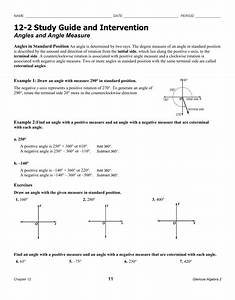 1 4 Study Guide And Intervention Angle Measure Answers
