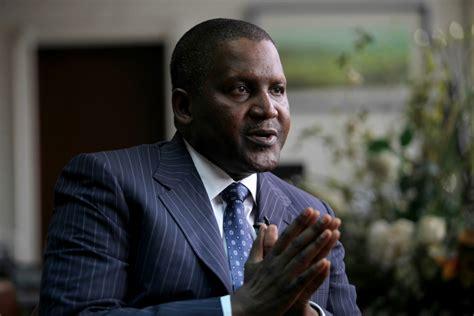 nigeria aliko dangote calls  african leaders  push eu