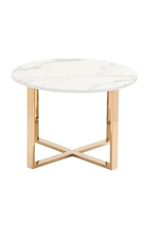 white marble table l white marble gold end table modern furniture brickell