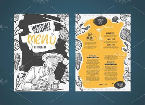 retro modern style 50 restaurant menu designs that look better than food