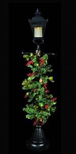 Luminara, Lamp, Post, With, Prelit, Removable, Holiday, Garland