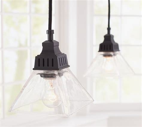 bixler pendant track lighting pottery barn traditional