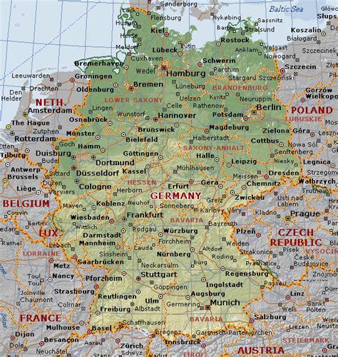 globporlocen map  germany  cities