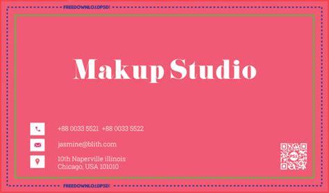 Makeup Artist Business Card Psd Template Credit Card Machine Business Opportunity Ns Ice Ov Fiets Huren Refund Zakelijk Metal Prive Gebruik