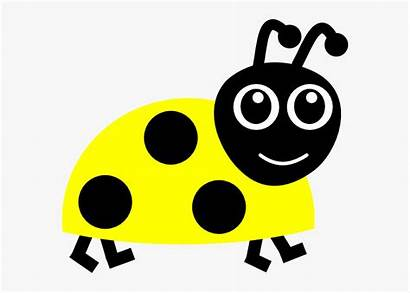Clip Ladybug Yellow Lady Bug Clker Clipart