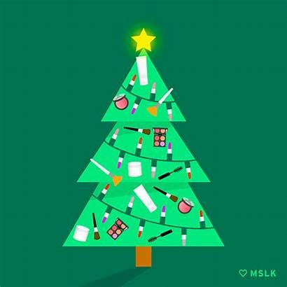 Christmas Tree Holiday Gifs Holidays Beauty Mslk