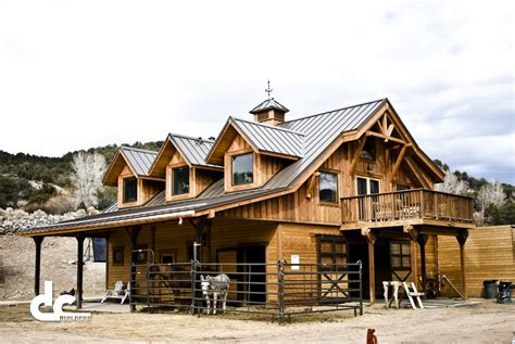 Custom Barns by Barn With Living Quarters Builders Dc Builders