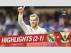 Resumen de Real Madrid vs CD Leganés 21 YouTube